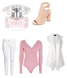 """Untitled #11"" by himani3446 on Polyvore featuring beauty, Versace, Emporio Armani, Topshop and Kendall + Kylie"