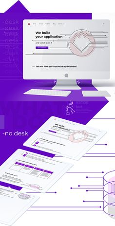 This is a page for the digital Agency, which is engaged in the creation and promotion of websites and web applications. Each page of this site is different in style. You can see other pages in my profile.