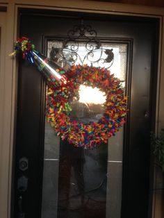 As my three children were growing up, I always desired a birthday wreath to match my banner that I always put out on the porch. I never had time to ponder makin…