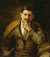 Saint Bartholomew 1661 Rembrandt van Rijn at the Getty Center in Los Angeles, CA
