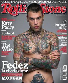 X Factor, Fedez conquista la copertina di Rolling Stone