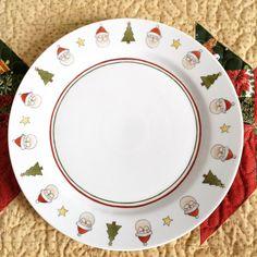 Prato de bolo Natal. Pintura em porcelana. Porcelain christmas. Luciana Domingos. Lu Capitu
