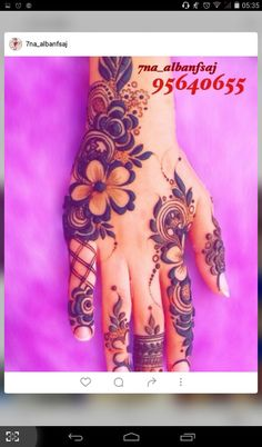, - why not visit our site for more inspirational tattoo ideas? Floral Henna Designs, Finger Henna Designs, Modern Mehndi Designs, Mehndi Design Pictures, Unique Mehndi Designs, Wedding Mehndi Designs, Mehndi Designs For Fingers, Dulhan Mehndi Designs, Beautiful Henna Designs