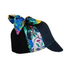 Violeta Hat with Dans La Foret Print Tie by Wolf And Rita X JC de Castelbajac - Junior Edition  - 1