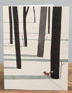 Coup de coeur pour cette Carte Bateau Merci de Jon Klassen !Une carte avec un graphisme simple et des couleurs contrastées comme on aime.