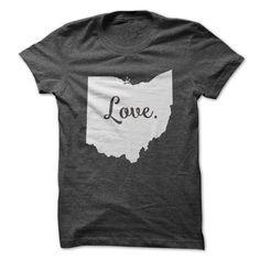 Love Ohio T Shirts, Hoodies. Check Price ==► https://www.sunfrog.com/States/Love-Ohio-62510757-Guys.html?41382