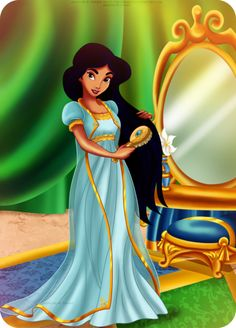 ENGLISH:------------ Welcome to a new illustration of Designer Fairytale! Today I present the designs that were created for Aladdin and Jasmine dolls. Disney Princesse Jasmine, Jasmine Disney, Aladdin And Jasmine, Disney Fan Art, Disney Style, Disney Love, Disney And Dreamworks, Disney Pixar, Disney Characters