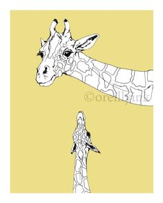 Looking Up Print by OReillyInk on Etsy, $15.00