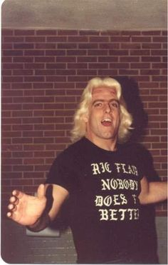 """Ric Flair - """"Nobody does it better"""""""