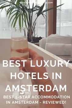 Travel to Amsterdam, Netherlands: The Best Luxury Hotels in Amsterdam & Best Luxury 5-star Accommodation in Amsterdam, Netherlands - There are lots of beautiful luxury hotels in Amsterdam, and I've stayed in many of them, so I share and review my favourite Amsterdam 5-star hotels in this list of the best luxury hotels in Amsterdam. Enjoy finding your best Amsterdam luxury accommodation by reading these real traveller reviews of luxury hotels, guest houses, boutique hotels & B&Bs in Amsterdam. Luxury Accommodation, Luxury Hotels, Travel Advice, Travel Guides, Amsterdam Travel Guide, Guest Houses, Amsterdam Netherlands, Boutique Hotels, 5 Star Hotels