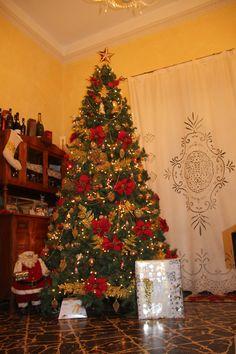 Natale si avvicina... Questo è il nostro albero all'ingresso del Palazzo Giovanni . Vi piace? E voi, come lo avete decorato?