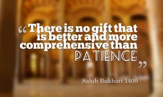 """""""Seek help in patience and Salah (the prayer). Truly, Allah is with As-Sabirun (the patient).'' - Surah Baqarah 153 Learn more at http://quranforkids.com/"""