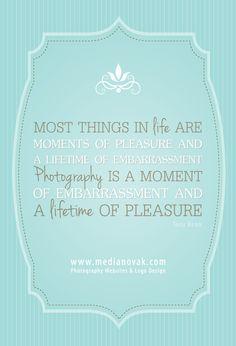 http://medianovak.com | Photography Websites & Logo Design