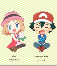 Serena With Ash