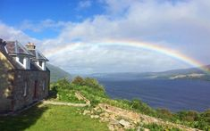 Spot the Loch Ness Monster From Bed in This Cozy Scottish Cottage | The legend of the Loch Ness Monster has been around for almost a century. The monster, said to live at the bottom of Scotland's Loch Ness, has been the highlight of sensational news stories ever...