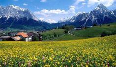 Beautiful Scenery in France's Countryside Lofoten, Landscape Wallpaper, Nature Wallpaper, Spring Wallpaper, Hd Wallpaper, Festival Stil, Beautiful Wallpaper Hd, France Wallpaper, Image Positive