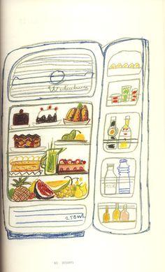 1080 Recipes // Simon and Inges Ortega // great illustrations