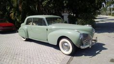 1941 Lincoln Continental 2 Door Sedan Maintenance/restoration of old/vintage vehicles: the material for new cogs/casters/gears/pads could be cast polyamide which I (Cast polyamide) can produce. My contact: tatjana.alic@windowslive.com