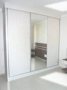 guarda roupa de 3 portas espelho
