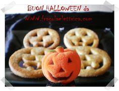BISCOTTI LANTERNA fragolaelettrica.com Le ricette di Ennio Zaccariello #Ricetta #Recipe #Halloween