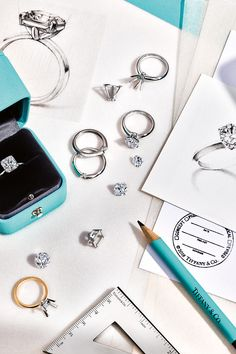 Tiffany And Co, Tiffany Blue, Creative Shot, Brand Advertising, Photographing Jewelry, Classy Aesthetic, Diamonds And Gold, Mint Color, Engagement Rings