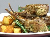 Costillas de cordero con puré de hierbas- Narda Lepes- El Gourmet.com