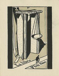 [Bookplate of Thomas Klein] by Pratt Libraries, via Flickr