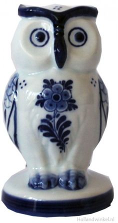 Delfts Blauw...reminds me of my Nana's worry owl