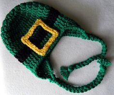 Crochet Leprechaun Hat, St. Patrick's Day Hat - All Sizes Available