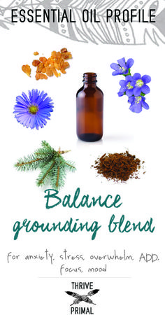 Thrive Primal - doTERRA balance essential oil benefits and how to use