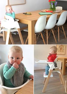 Stokke Steps High Chair in Natural via Mood Kids