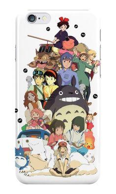 Studio Ghibli All Characters Art 2 Apple iPhone 7 Plus Case Cover Studio Ghibli Tattoo, Studio Ghibli Art, Studio Ghibli Movies, Film Anime, Anime Art, Animes Wallpapers, Cute Wallpapers, Anime Disney, Mononoke Anime