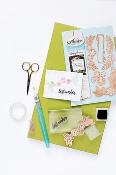 Spellbinders   Kreativ mit Stanzen   Using Die-Cuts on your projects