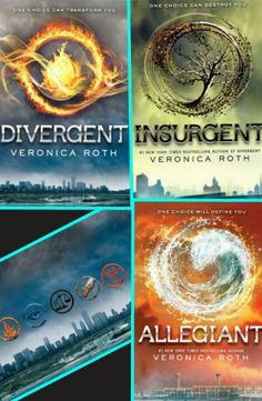 DIVERGENT TRILOGY. My mother needs to get the second book.