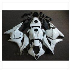 Motorcycle Unpainted White Fairing Bodywork KIT For HONDA CBR600RR CBR 600RR CBR600 RR 2009-2012 10 11 +3 Gift