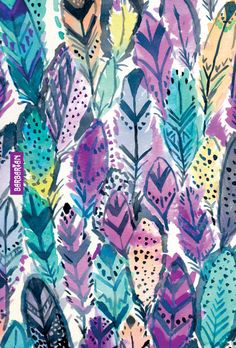 Radiant Feathers wallpaper / / Barbarian by Barbra Ignatiev #iphonecases #feathers #art #wallpaper