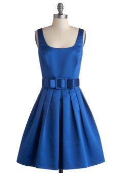 Sapphire Stunner Dress, #ModCloth