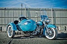 1950 Harley-Davidson Panhead w/ Sidecar