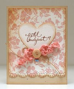 bibbis dillerier - a FANTASTIC card maker especially if you love shabby-chic
