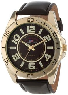 U.S. Polo Assn. Classic Men's US5160 Brown Dial Brown Strap Watch #U.S. #Polo #Assn. #Classic #Mens #US5160 #Brown #Dial #Strap #Watch