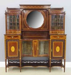 Maple & Co. Inlaid Sideboard