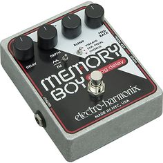 Electro-Harmonix Memory Boy Delay Guitar Effects Pedal