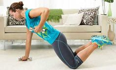 Lose Weight Workout: Renegade Rows