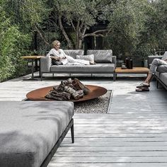 outdoor furniture sofa - Making the most of your outdoor space is essential when the weather is warm, which is what the 'Grid' Modular Outdoor Furniture Sofa ai.