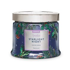 Starlight Night 3-Wick Jar Candle- Seasonal Fragrances www.partylite.biz/cierajandreau