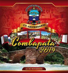 102 aniversario del distrito de Combapata, provincia de Canchis - Cusco