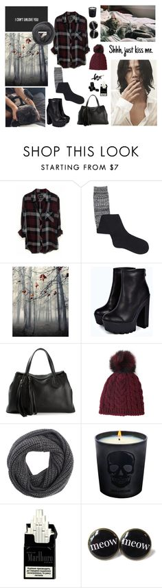 """""""shhh, just kiss me..."""" by akemi-kiryu ❤ liked on Polyvore featuring Rails, Forever 21, Boohoo, Gucci, rag & bone, Zadig & Voltaire, Chanel and bedroom"""