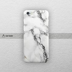 white marble iphone 6S case iphone 6S plus case by CaseToaster