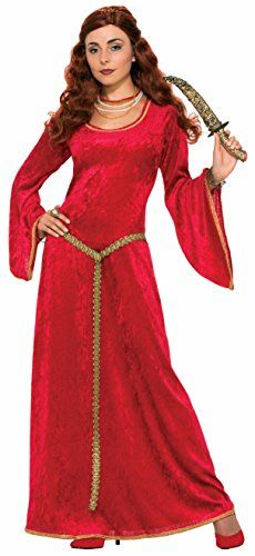 Ruby Medieval Sorceress Adult Costume   - Click image twice for more info - See a larger selection of Women Medieval Renaissance Costumes at http://costumeriver.com/product-category/womens-medieval-renaissance-costumes/  - women, halloween costumes, halloween fashion , classic costume, holidays, event, trick or treat , gift ideas, costumes, disguise.