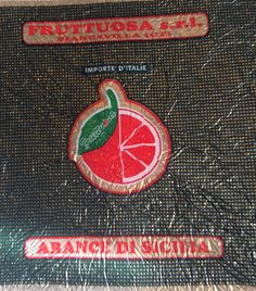 Tambour Embroidery, Orange Paper, Vintage Prints, Wrapping, Wraps, Stickers, Fruit, Italy, Rolls